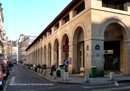 Paris VI (75) -Halle Du Marché Saint-Germain (Edition à Tirage Limité) - District 06