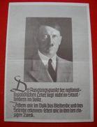 Faltblatt, WHW-Spenden-Zeichnungsschein 1937/38, Ungebraucht - Deutschland