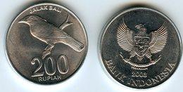 Indonesie Indonesia 200 Rupiah 2003 KM 66 - Indonesia