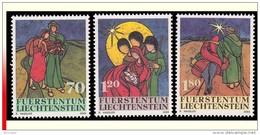 Liechtenstein 1245/47** Noel  MNH - Liechtenstein