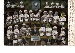 FANTAISIE---Bébés Sur Le Pots--( état Trés Trés Moyen Voir 2 Scans ) - Neonati