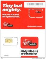 "AUSTRALIA GSM MOBILE ""VIRGIN""  RED  CHIP READ DESCRIPTION !!! - Australia"