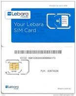 "AUSTRALIA GSM MOBILE ""LEBARA""  BLUE  CHIP READ DESCRIPTION !!! - Australia"