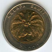 Indonesie Indonesia 1000 Rupiah 1996 KM 56 - Indonesia