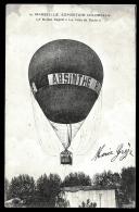 "CPA ANCIENNE FRANCE- MARSEILLE- EXPO. COLONIALE- BALLON CAPTIF ""VILLE DE PARIS""- PUB ABSINTHE- TRES GROS PLAN - Balloons"