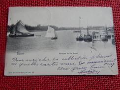 BOOM     -   Barques Sur Le Rupel   -   1906 - Boom