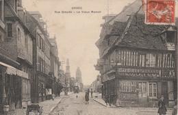14  ORBEC    Rue Graude -Le Vieux Manoir   TB PLAN  1914 PAS COURANT - Orbec