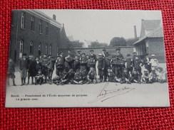 BOOM - Pensionnat De L'Ecole Moyenne De  Garçons  -  La Grande Cour -  1907 - Boom