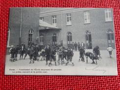 BOOM - Pensionnat De L'Ecole Moyenne De  Garçons  - Le Préau Couvert Et La Petite  Cour -  1906 - Boom