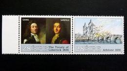 Irland 761/2 **/mnh, 300. Jahrestag Der Belagerung Von Athlone Und Des Friedens Von Limerick - Usati