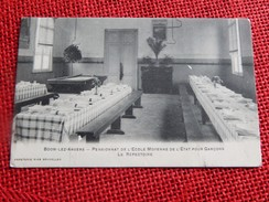 BOOM-LEZ-ANVERS - Pensionnat De L'Ecole Moyenne De L'etat Pour Garçons  - Le Réfectoire  -  1908 - Boom