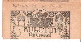"""""""JOURNAL Paroissial De ROUX"""" TP. N° 245 ROUX 17/6/1928 Côte COB 55€ - 1922-1927 Houyoux"""