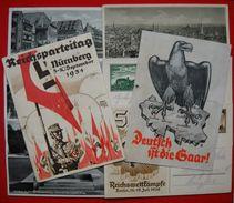 Lot Mit 8 X Postkarten Von Deutsches Reich, Tw.starke Mängel - Deutschland