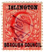 (I.B) Edward VII Commercial Overprint : Islington Borough Council - 1902-1951 (Kings)