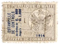 (I.B) Haiti Revenue : Commercial Duty 800c - Haiti