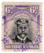 (I.B) Southern Rhodesia Revenue : Duty Stamp 6d - Groot-Brittannië (oude Kolonies En Protectoraten)