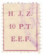 (I.B) Palestine Revenue : Hejaz Railway 10pt - Palestine