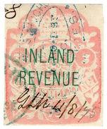 (I.B) QV Revenue : Inland Revenue 1/- (SG F48) - 1840-1901 (Victoria)