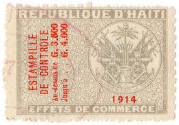 (I.B) Haiti Revenue : Commercial Duty 3800c - Haiti