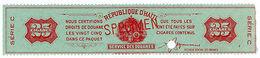 (I.B) Haiti Revenue : Tobacco Duty 25 Cigars (ABN Specimen) - Haiti