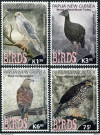 Papua New Guinea. 2017. Rare Birds Of Papua New Guinea (MNH OG **) Set Of 4 Stamps - Papouasie-Nouvelle-Guinée