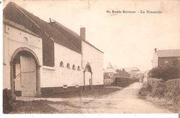 CP De ST.DENIS-BOVESSE - LA BRASSERIE En 1930 Très Rare - Belgium