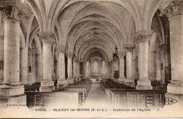 71. Blanzy Les Mines. Interieur De L'église - Sonstige Gemeinden