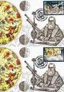 Romania 2009 Maximum Card Astronomy Galilei - Lettere