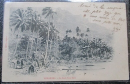 Tahiti Borabora Au Fond D'une Baie Cpa Timbrée 1906 -polynesie Française - Polynésie Française