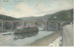 NAMUR : Pont De Jambes - RARE VARIANTE COLORISEE- Nels Série 16 N° 14 - Cachet De La Poste 1906 - Namen