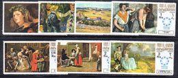 BF16 - UMM AL QIWAIN 1967 Expo Montreal Dipinti Celebri Di Degas Renoir Van Gogh Ed Altri  *** - 1967 – Montreal (Canada)