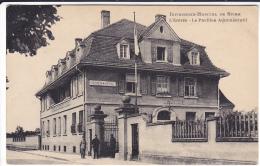 ALLEMAGNE  RHENANIE  INFIRMERIE  HOPITAL DE SPIRE   L'ENTREE  LE PAVILLON ADMINISTRATIF  (FRANCAIS JUSQ U'EN  1938 ) - Deutschland