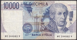 Italy:- 10,000 Lire/P.112b (Ciampi/Speziali):- F - [ 2] 1946-… : Republiek