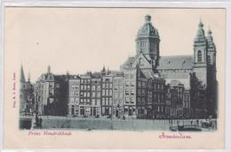 Amsterdam Prins Hendrikkade ± 1900   1225 - Amsterdam