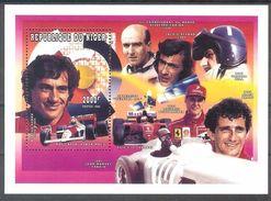 NIGER Sport Cars(Ferrari) S/Sheet MNH - Stamps