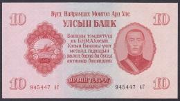 Mongolia:- 10 Tugrik/P.31 (1955):- UNC - Mongolia