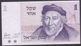 Israel:- 1 Sheqel/P.43 (1978/5738):- VF+ - Israel