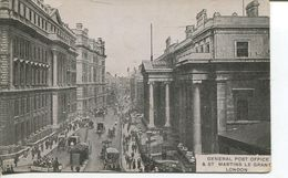 London - General Post Office & St. Martins Le Grand (001684) - London