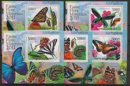 Comores - 2011 - KLB N°Yv. 2125 à 2129 - Papillons - Neuf Luxe ** / MNH / Postfrisch - Schmetterlinge