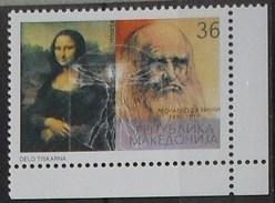 Macedoin 2002 Leonardo Da Vinci - MNH - Macedonia