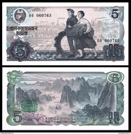 BANK OF KOREA 5 WON ND 1978 Pick 19b UNC - Korea, South