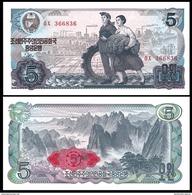 BANK OF KOREA 5 WON ND 1978 Pick 19d UNC - Korea, South