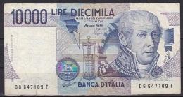 Italy:- 10,000 Lire/P.112c (Fazio/Speziali): VG - [ 2] 1946-… : Républic
