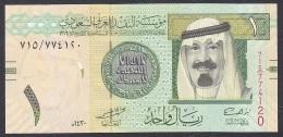 Saudi Arabia:- 1 Riyal/P.31b (2009):- UNC - Arabie Saoudite