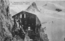 74 -- ASCENSION DU MONT-BLANC - LES GRANDS MULETS - REFUGE - France
