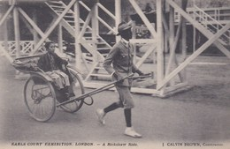 EARLS COURT EXHIBITION, LONDON. A RICKSHAW RIDE - Exhibitions