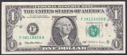 U.S.A:- 1 Dollar/P.496 (1995):- VF - Billetes De La Reserva Federal (1928-...)