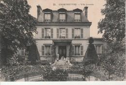 Chartrettes-Villa Lerendu. - France