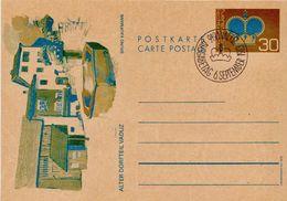 Liechtenstein 4 Cancelled Postal Stationery Cards - Stamped Stationery