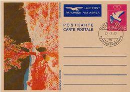 Liechtenstein Cancelled Postal Stationery Card - Stamped Stationery